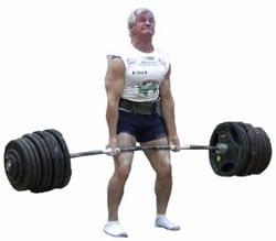 Jan łuka 405 kg w żelaznym ciągu